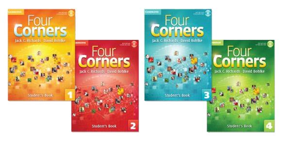 کتاب های Four Corners ایران اروپا