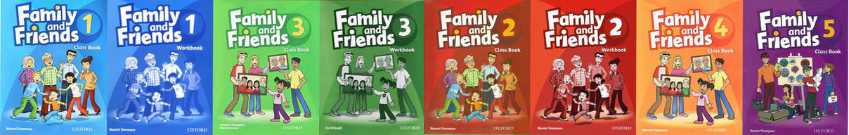 کتاب های Family Friends - موسسه زبان ایران اروپا