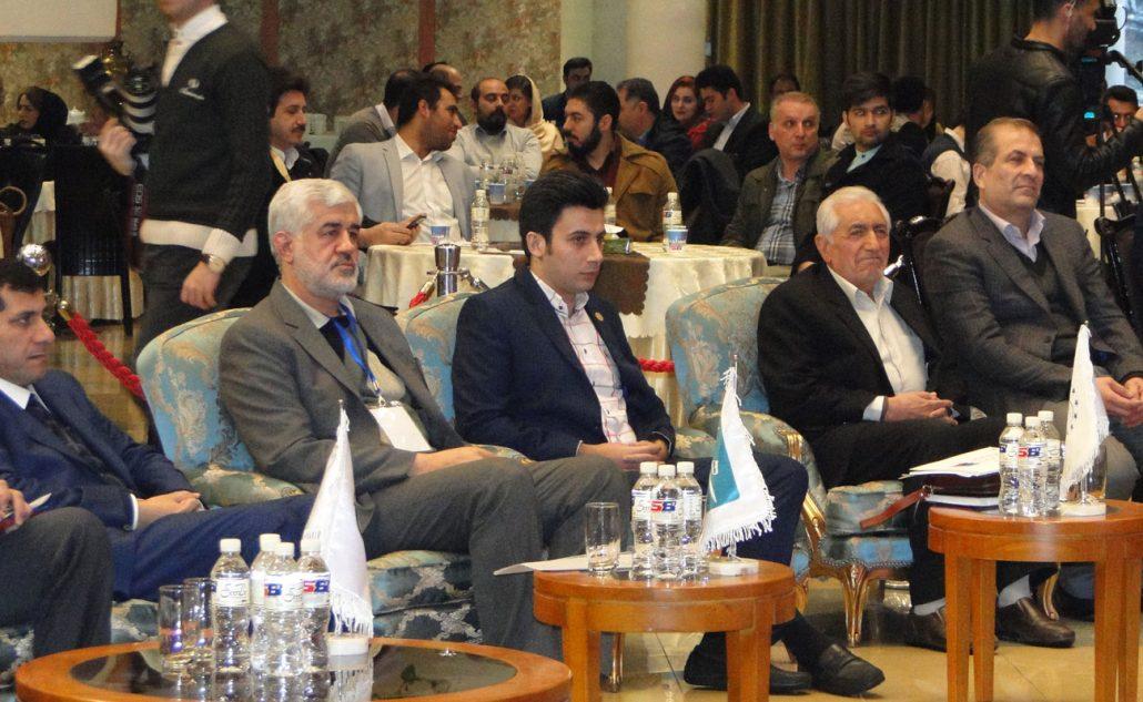 حضور مهندس محمد غرضی و مهندس شجاع پوریان در اجلاس مدیر عالی سال