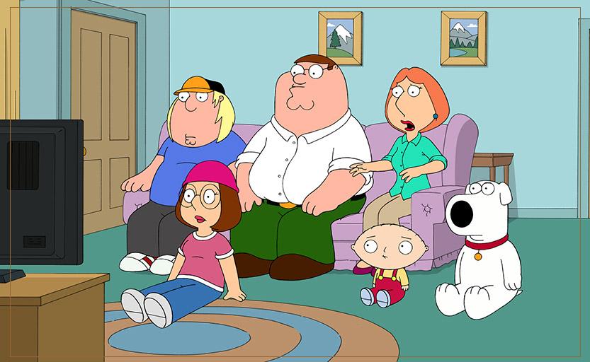 یادگیری زبان انگلیسی با فمیلی گای Family Guy