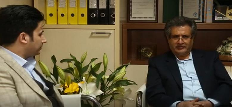 بازدید آقای دکتر علی ابراهیمی از موسسه زبان ایران اروپا