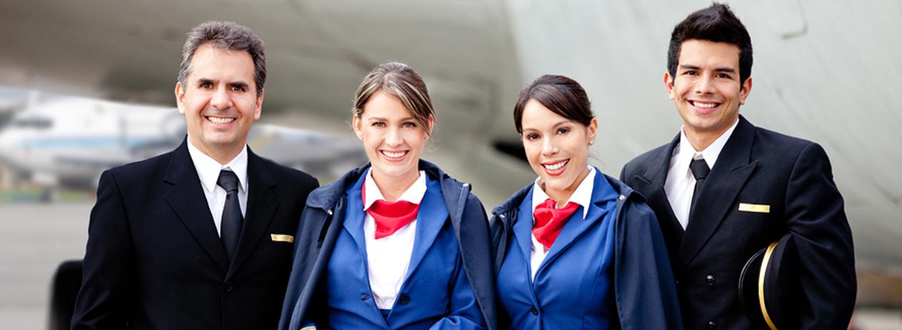 انگلیسی برای خدمه پرواز و مهمانداران