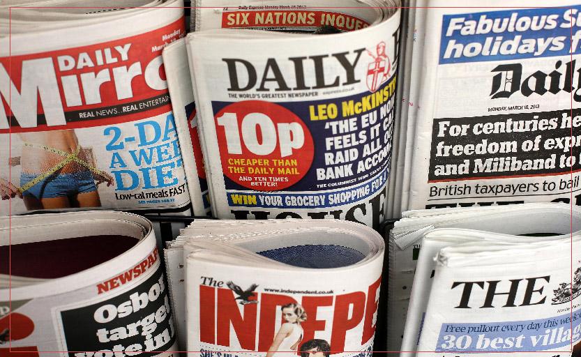 Get a newspaper